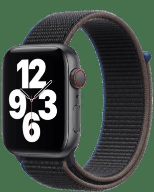 Apple Watch SE LTE 44 Alu Sport Loop Detailansicht