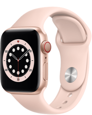 Apple Watch Series 6 LTE 40 Alu Sport Detailansicht