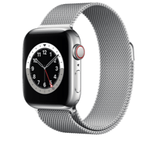 Apple Watch Series 6 LTE 40 Steel Milanaise