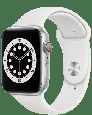 Apple Watch Series 6 LTE 44 Alu Sport mit o2 Free S Boost mit 6 GB