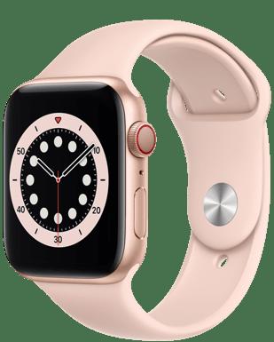 Apple Watch Series 6 LTE 44 Alu Sport mit o2 Free S Boost mit 3+3 GB