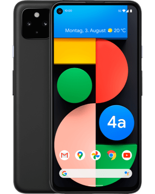 Google Pixel 4a mit 5G Detailansicht