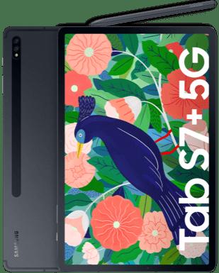 Samsung GalaxyTab S7+5G Detailansicht