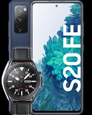 Samsung Galaxy S20 FE mit Watch
