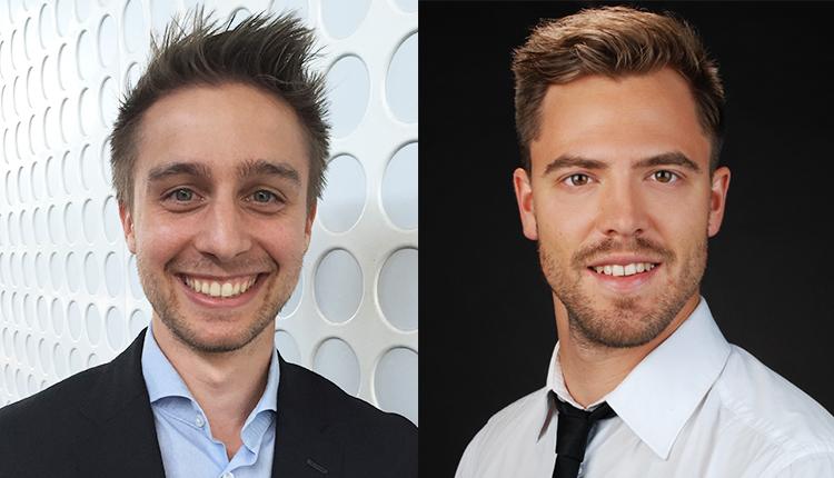 Matteo Ostermeier und Johannes Winkler (Product Manager B2B)