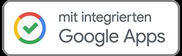 Mit integrierten Google Apps