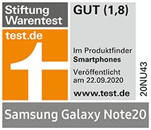 Testlogo Samsung Galaxy Note20