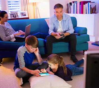 Kabel-Internet günstig und ideal für intensive Nutzung.
