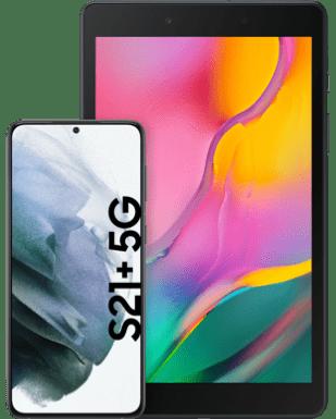 Samsung Galaxy S21+ 5G mit Tablet mit o2 Free Unlimited Basic