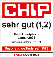 Testlogo Samsung Galaxy S21+ 5G