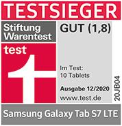 Testsieger Samsung Galaxy Tab S7
