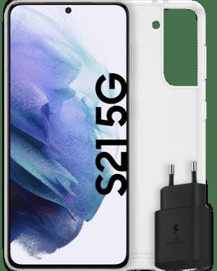 Samsung Galaxy S21 5G mit Starterset Detailansicht