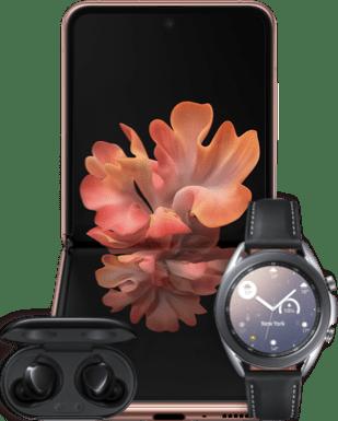 Samsung Galaxy Z Flip 5G mit Vertrag
