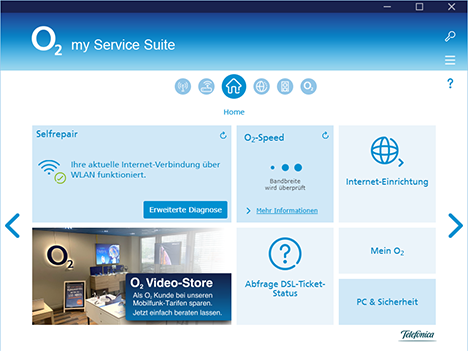 o2 my Service Suite Home