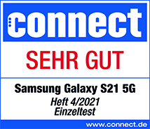 Testlogo Samsung Galaxy S21 5G