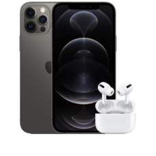 Apple iPhone 12 Pro mit AirPods Pro