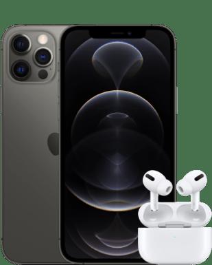 Apple iP 12 Pro + AirPods Pro mit Vertrag