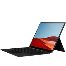 Microsoft Surface Pro X (8 GB RAM) mit Keyboard