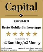 CAPITAL: o2 Banking / o2 Money App ist Testsieger