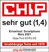 Testlogo Oppo Find X3 Pro 5G