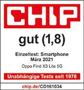 Testlogo Oppo Find X3 Lite 5G