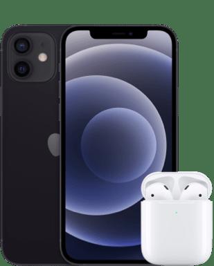 Apple iPhone 12 mit AirPods mit o2 Free M Flex mit 20 GB