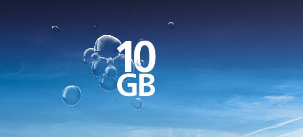 Bestseller-Tarif 10 GB LTE