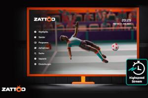 Live TV online: Zattoo