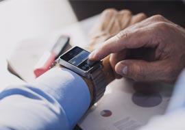 Smartwatch mit Navigation