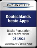 FAZ Institut: Deutschlands beste Apps