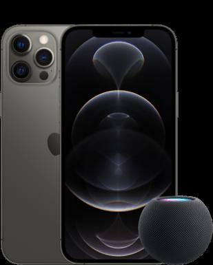 Apple iPhone 12 Pro Max mit HomePod mini mit o2 Free M mit 20 GB