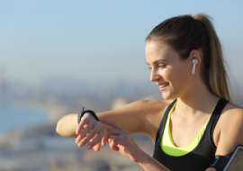 Smartwatch mit Musikspeicher